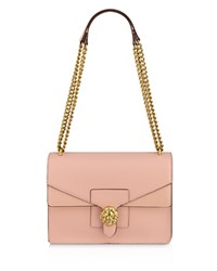 Anne Klein Diana Chain Shoulder Bag Peony Hot Pink Gold