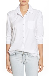Stateside Oxford Button Down Shirt White