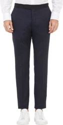 Officine Generale Contrast Waist Trousers Blue