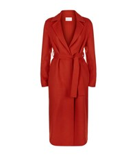 Claudie Pierlot Gracie Wool Coat Female Red