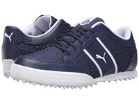 Puma Monolite Cat Mesh Peacoat White Women's Golf Shoes Blue