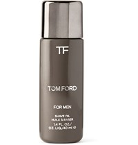Tom Ford Grooming Shave Oil 40Ml Gray