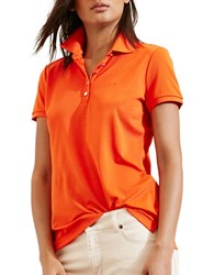 Lauren Ralph Lauren Monogram Polo Shirt Orange