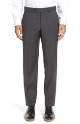 Ted Baker Men's London Livingstone Flat Front Plaid Wool Trousers