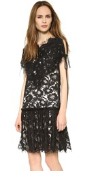 Wes Gordon Beatrix Dress Black