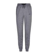 Hugo Boss Green Helnio Tapered Sweatpants Male Grey