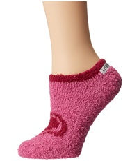 Life Is Good Lightweight Snuggle Low Cut Fresh Raspberry Women's Low Cut Socks Shoes Pink