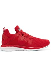 Athletic Propulsion Labs Ascend Mesh And Rubber Sneakers Red