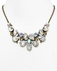 Sorrelli Pear Cluster Bib Necklace 17 Gold