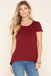 Forever 21 Raw Cut High Low Top