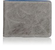 Miansai Leather Billfold Grey