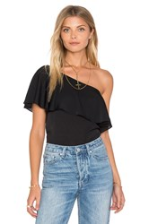 Amanda Uprichard Zoe Top Black