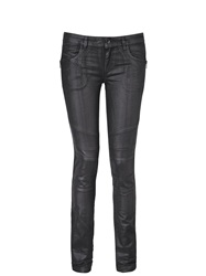 Diesel Black Gold Perge Wax Effect Trousers Black Black