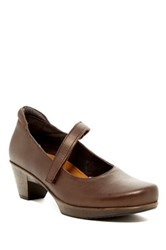 Naot Footwear Muse Mary Jane Pump Brown