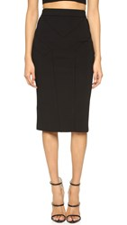 Cushnie Et Ochs High Waisted Pencil Skirt Black