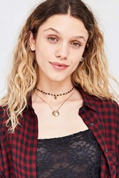 Urban Outfitters Lola Charm Necklace Set Gold
