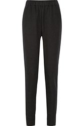 Tomas Maier Fleece Track Pants Black