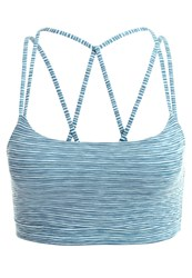 Gap Sports Bra Bleached Aqua Light Blue