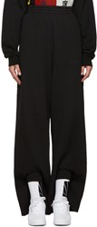 Gosha Rubchinskiy Black Double Cuff Lounge Pants