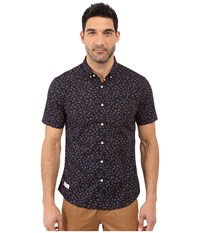7 Diamonds Editions Of You Short Sleeve Shirt Coral Men's Short Sleeve Button Up