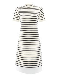 Tommy Hilfiger Thdw Basic Stripe Sweater Dress White
