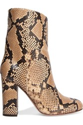 Iris And Ink Snake Effect Leather Boots Snake Print
