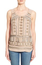 Women's Lucky Brand Beaded Tank