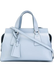 Giorgio Armani Medium Tote Bag Blue