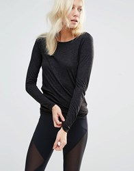 Y.A.S Yasjune Wrap Tie Top Black