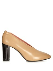 Acne Studios Aja Leather Pump Camel