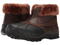 Propet Blizzard Ankle Zip Ii Brown Nylon Women's Cold Weather Boots