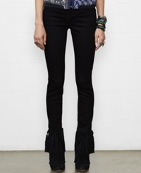 Denim And Supply Ralph Lauren Twill Skinny Jeans Black