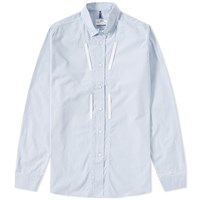 Over All Master Cloth Oamc Woven Ring Shirt Blue