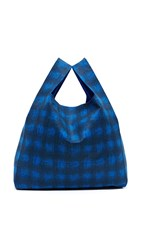 Maison Martin Margiela Shopper Tote Blue