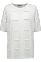 Opening Ceremony Fence Knitted Top White