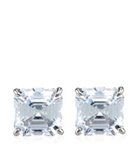 Carat Asscher Stud Earrings Female
