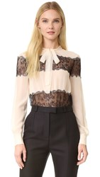 Philosophy Di Lorenzo Serafini Tie Neck Blouse Off White