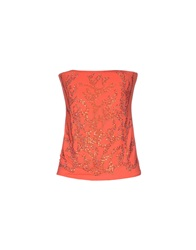 Met Miami Cocktail Tube Tops Red