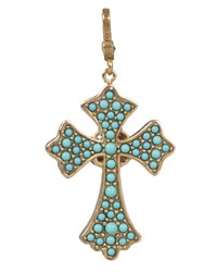 Maria Cross Pendant Jay Strongwater Multi Colors