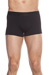Men's Naked 'Signature' Modal And Cotton Trunks Black