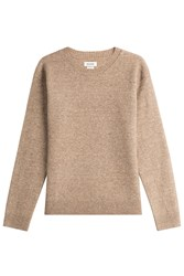 Zadig And Voltaire Pullover With Wool Yak Beige