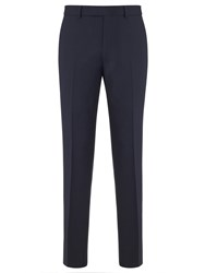 Chester Barrie By Wool Cashmere Tailored Suit Trousers Navy