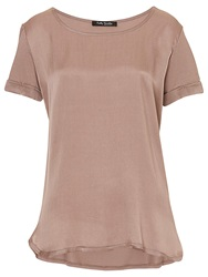 Betty Barclay Short Sleeved Top Golden Taupe