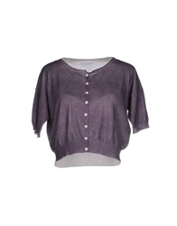 Stefano Mortari Cardigans Purple