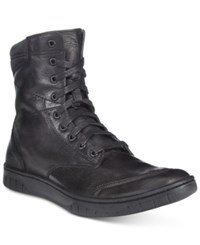 Diesel Men's Tatradium S Boulevard Boots Men's Shoes Black