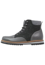 Lacoste Montbard Laceup Boots Dark Grey