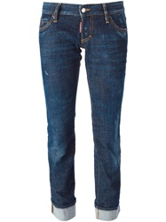 Dsquared2 'Sexy Rolled Up' Jeans Blue