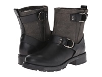 Woolrich Baltimore Black Crackle Leather Women's Boots