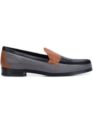 Pierre Hardy 'Hardy' Loafers Grey