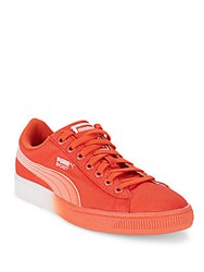 Puma Canvas Sneakers Red